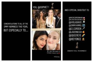 Priyanka Chopra celebrates Sophie Turner's Emmy nomination