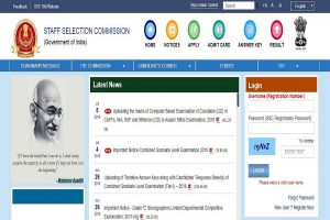 SSC Constable GD marks released at ssc.nic.in | Here's how to check scores