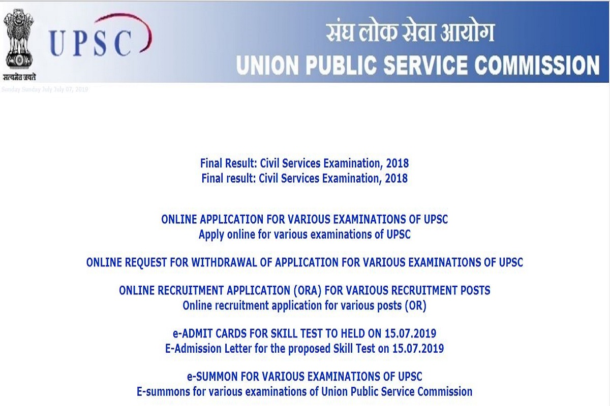 UPSC CDS (II) 2019, UPSC CDS (II) 2019 application process, upsconline.nic.in, Combined Defence Services Examination, Union Public Service Commission