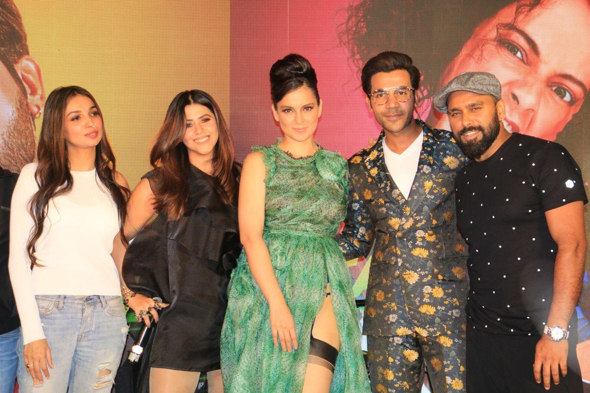 Kangana Ranaut, Rajkummar Rao, Ekta Kapoor, Manikarnika, Judgemental Hai Kya, Entertainment Journalists' Guild