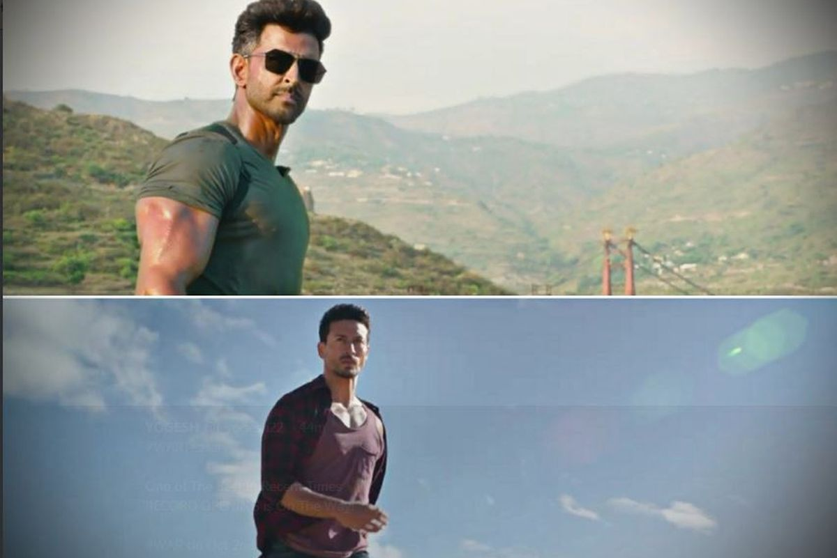 Watch Hrithik Roshan and Tiger Shroff in action face-off in 'War' teaser