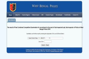 West Bengal SI results 2019 declared at wbpolice.gov.in | Steps to check results available here