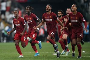 Liverpool beat Chelsea in shoot-out to lift Super Cup
