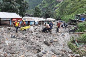 Uttarakhand: Chopper carrying flood relief crashes in Uttarkashi