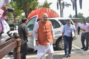 Amit Shah chairs high-level security meet with NSA, Home Secretary