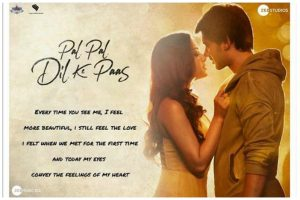Karan Deol, Sahher Bambba starrer Pal Pal Dil Ke Paas title track out