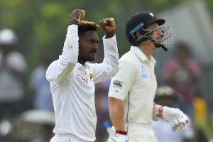 Akila Dananjaya's fifer pushes Kiwis on back foot in first Test