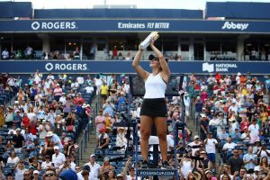 Andreescu wins Rogers Cup title as Serena Williams retires from match owing to back spasms