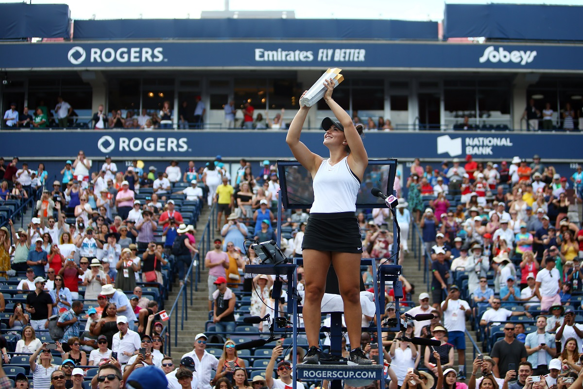 Serena Williams, Bianca Andreescu, Rogers Cup, US Open, Wimbledon