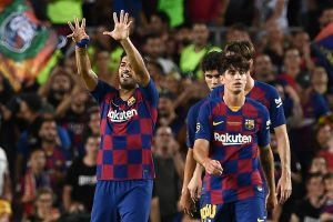 Luis Suarez finishes off in style as Barcelona grab Gamper trophy
