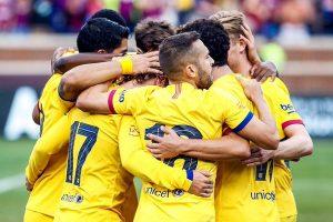 Barcelona outplay Napoli 4-0 in pre-season friendly