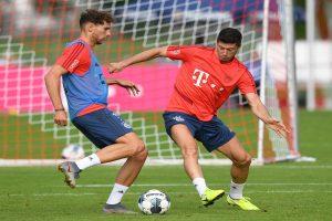 I think we need three new players other than Sane: Bayern Munich striker Robert Lewandowski