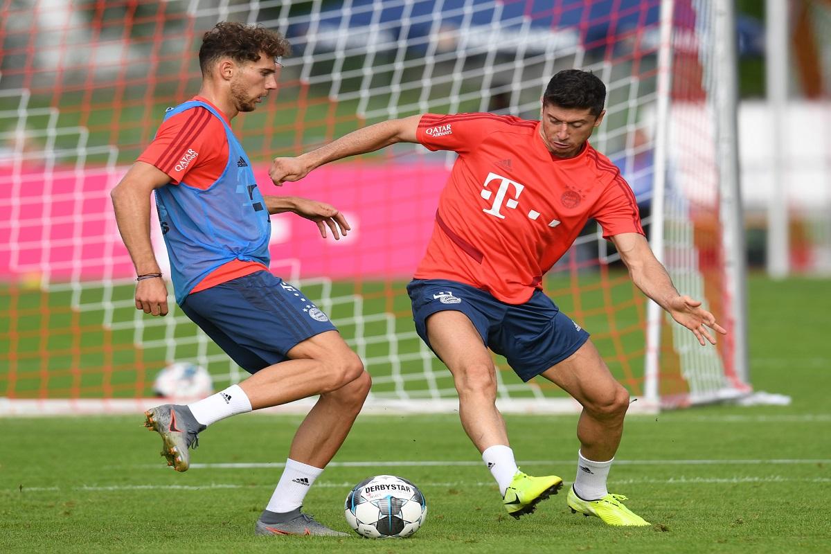 Robert Lewandowski, Leroy Sane, Bayern Munich, Bundesliga