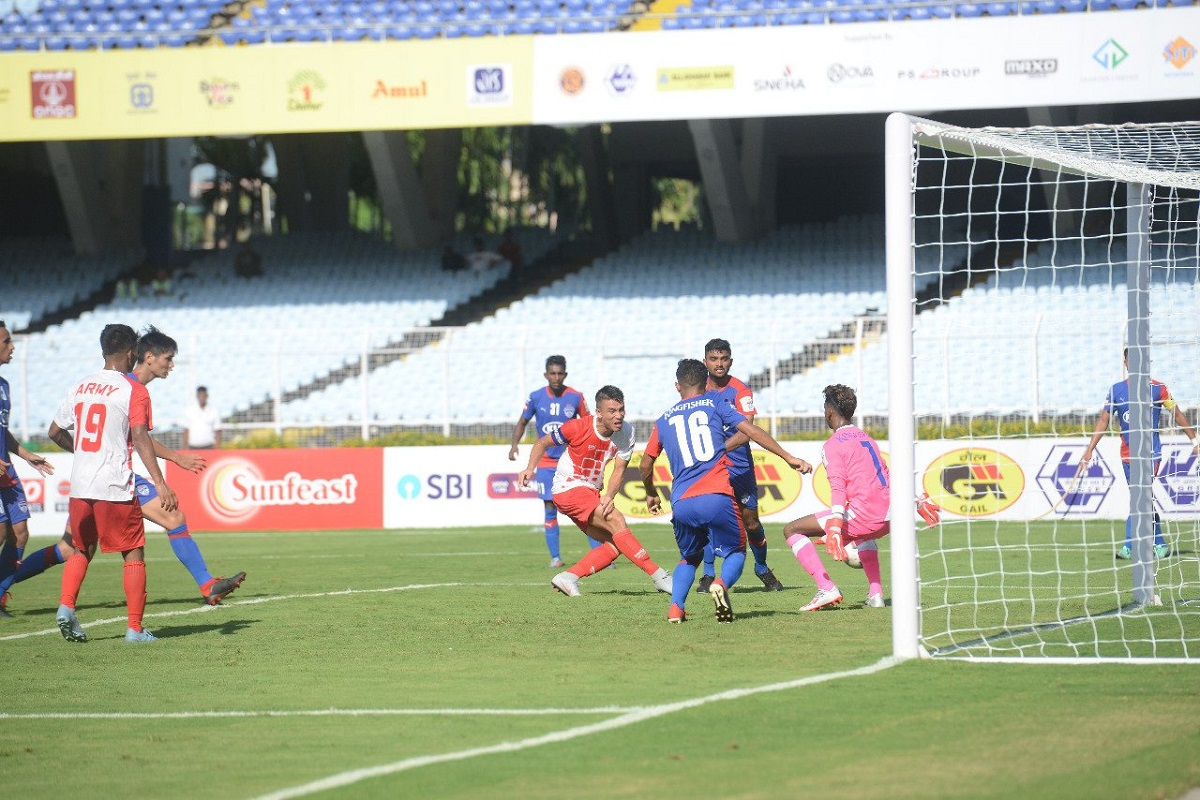 Bengaluru FC, Army Red, Durand Cup, Football