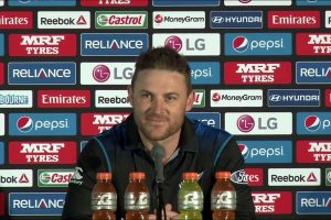 KKR coach Brendon McCullum 'trying to enjoy the time with the family'
