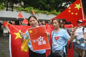 Hong Kong varsity's orientation programme turns anti-government rally