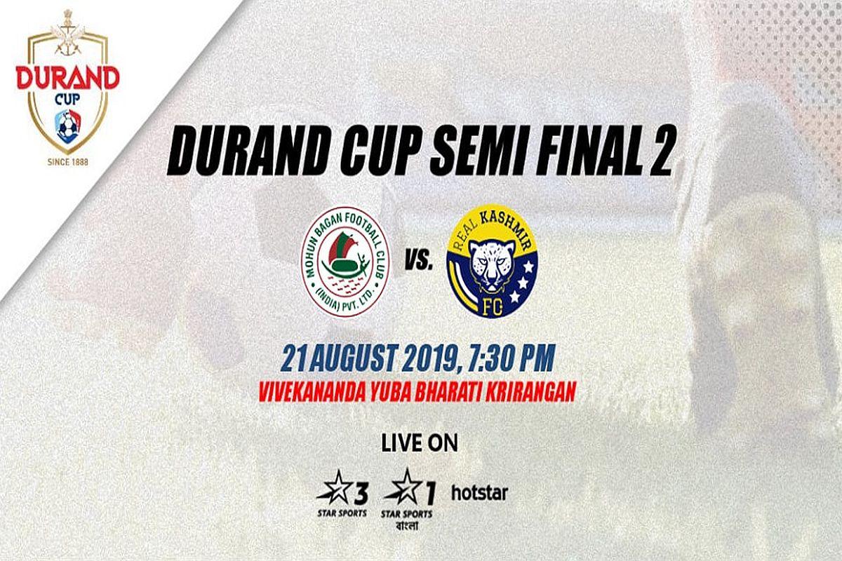Durand Cup 2019 2nd Semifinal Preview: Mohun Bagan vs Real Kashmir