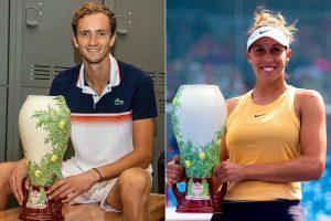 Daniil Medvedev, Madison Keys crowned Cincinnati Masters champions