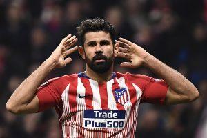 Atletico Madrid forward Diego Costa sustains left thigh injury