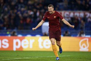 AS Roma renew three-year deal with Edin Dzeko