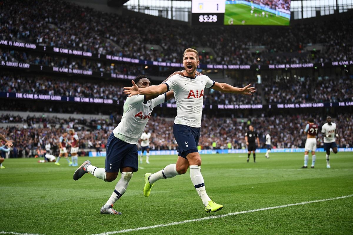 Harry Kane, Christian Eriksen, Tottenham Hotspur, Aston Villa, Premier League, Real Madrid