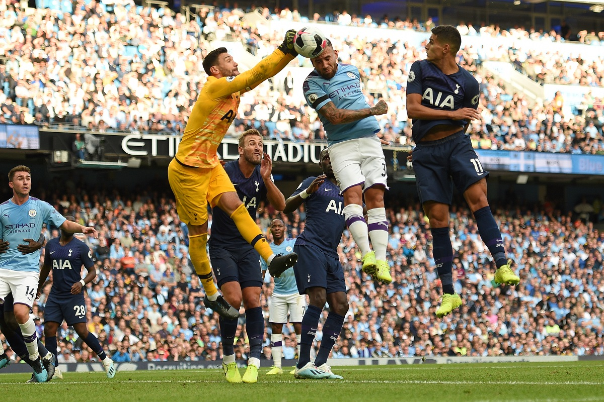 Premier League 2019 20 Manchester City Held To 2 2 Draw By Tottenham Hotspur