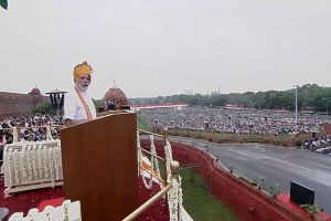 Scrapping Article 370 a step towards realizing Sardar Patel's dream: PM addresses nation on Independence Day