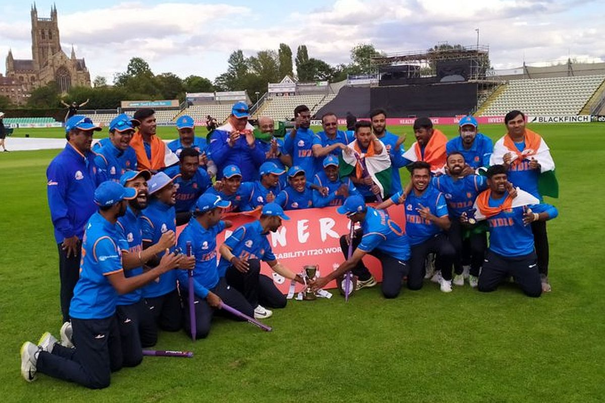 T20 Physical Disability World Cricket Series, India, England, R G Sante,