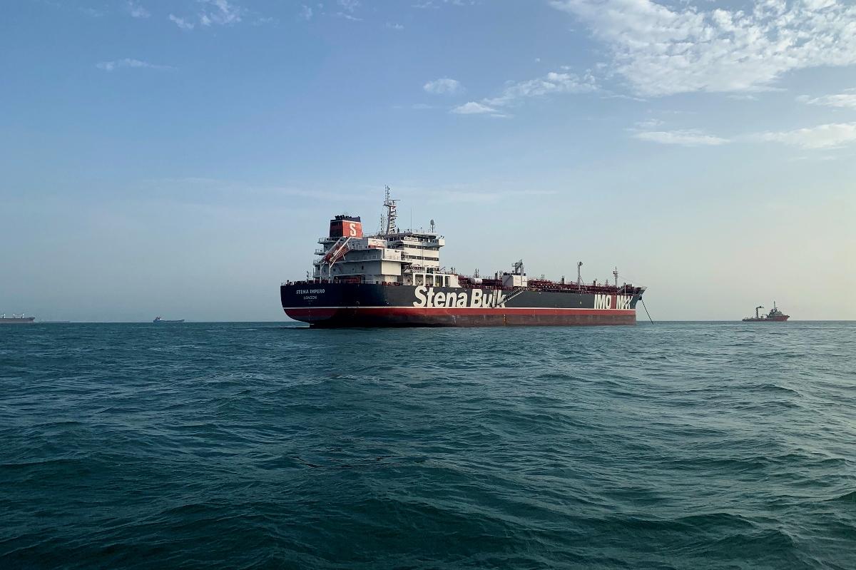 Iran, Islamic Revolution Guards Corps, Farsi Island, Persian Gulf, foreign tanker
