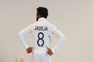 Team India don new Test jerseys bearing names and numbers