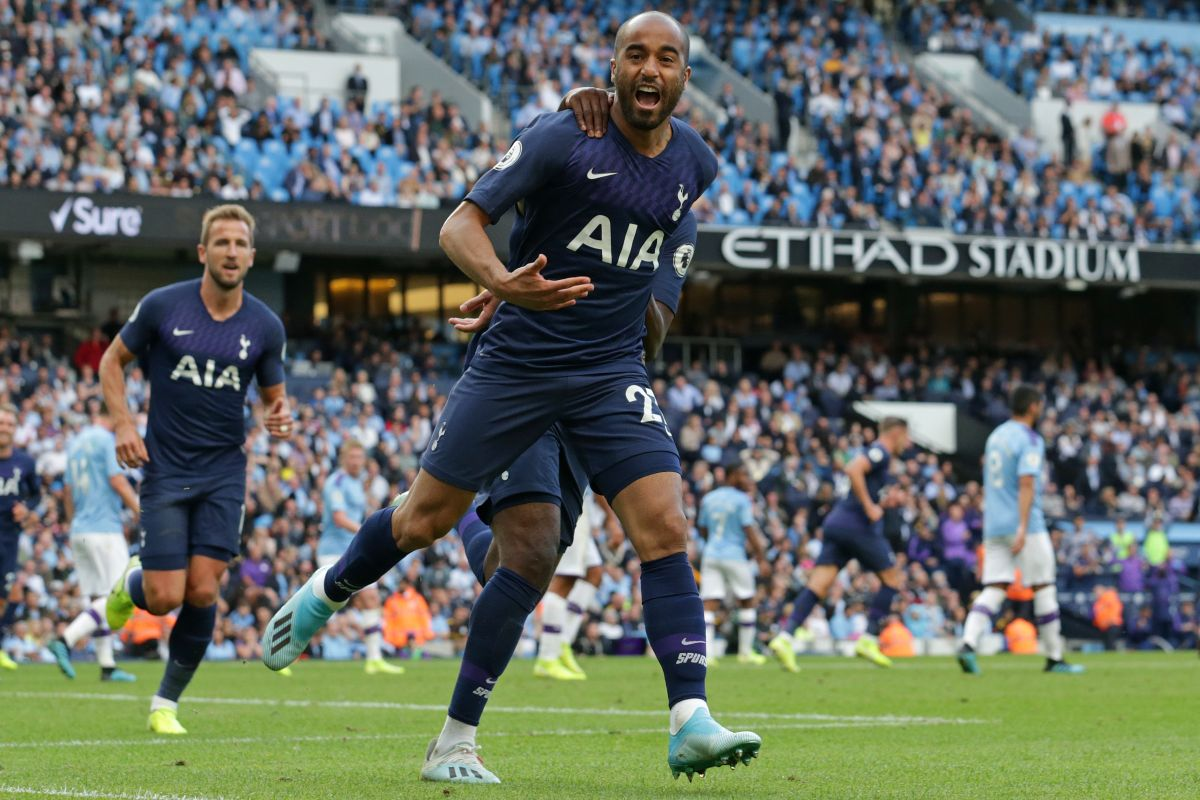 Lucas Moura, Tottenham, Manchester City, Newcastle United, Premier League