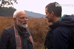 Narendra Modi and Bear Grylls charge up Man vs Wild at Jim Corbett