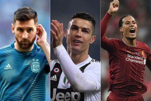 Messi, Ronaldo, Van Dijk nominated for UEFA Player of the Year Award