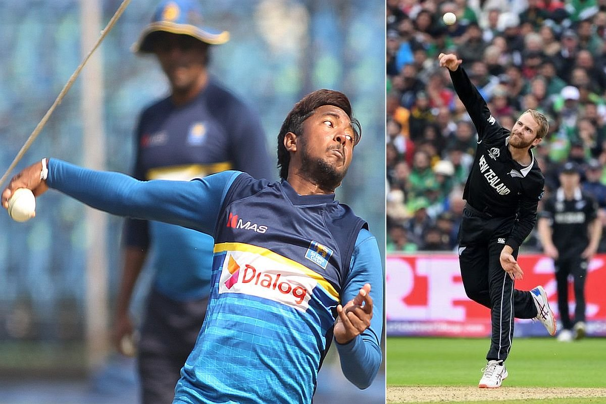 Akila Dananjaya, Kane Williamson, Sri Lanka, New Zealand,