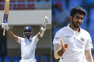 India vs West Indies 1st Test: Ajinkya Rahane's ton, Jasprit Bumrah's fifer script record win