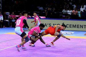 PKL 7 Update: UP Yoddha beat Pink Panthers, Haryana Steelers pip U Mumba