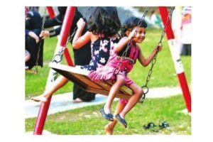 NKDA to set up playgrounds at eight New Town locations