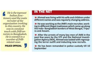 JMB head recruiter arrested from Bihar