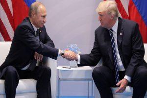 Donald Trump, Putin speak over phone on trade, wildfires