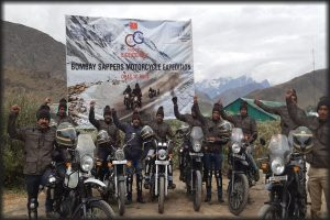 Bicentenary of Bombay Sappers: Squad rides 4000 km from Dras to Pune