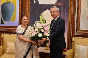 Japan envoy stresses need to boost biz links