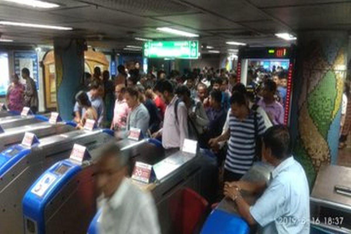 Metro's Open Sesame, Kolkata Metro, Dum Dum, Kavi Subhas