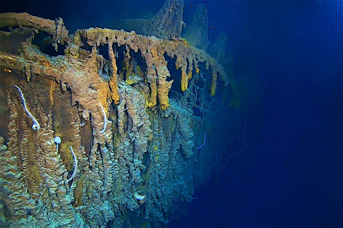 Wreck of the Titanic, Titanic, North Atlantic