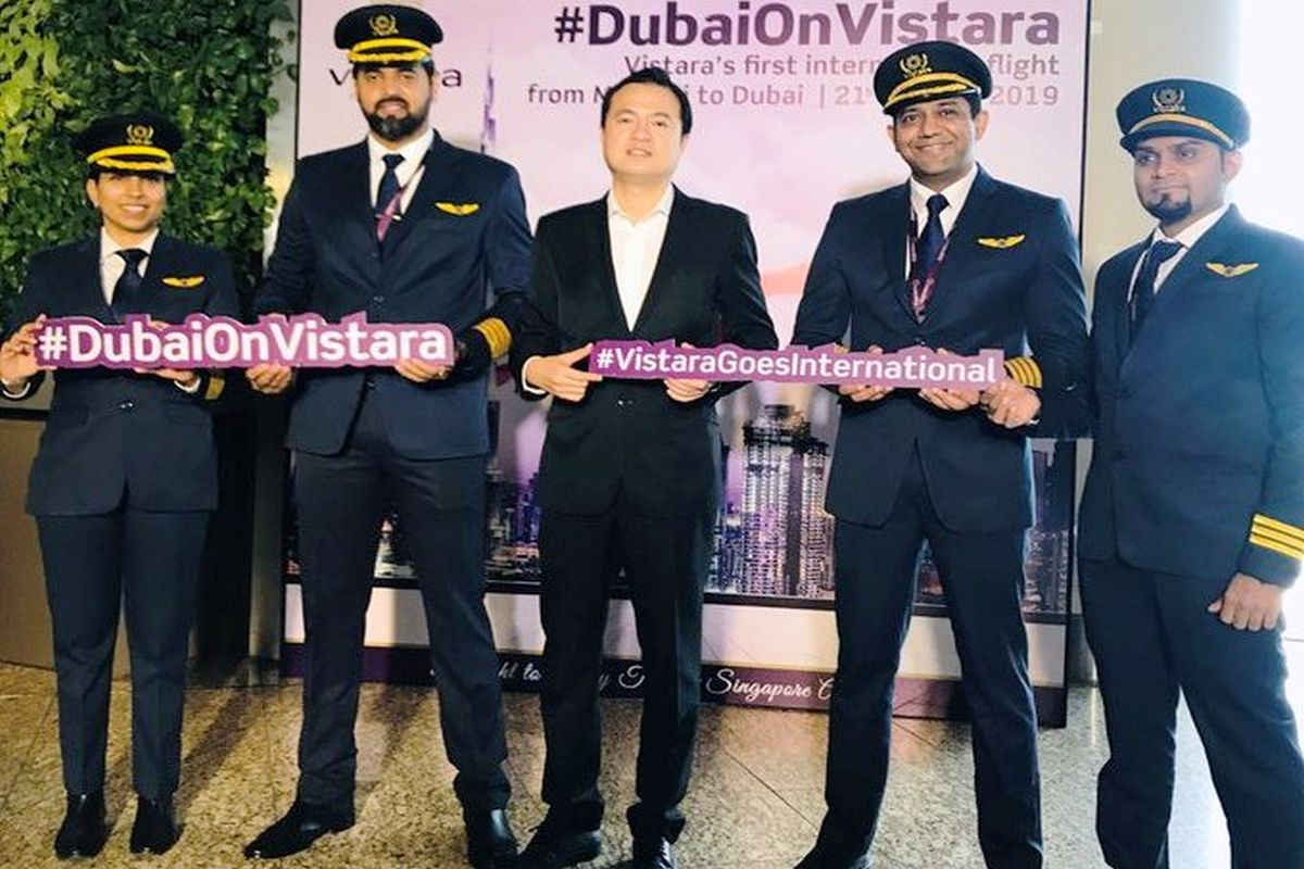 Vistara launches Mumbai to Dubai flight
