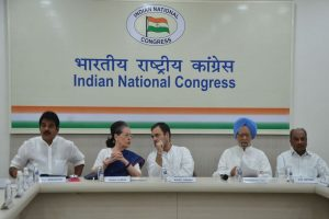 Sonia Gandhi, Rahul Gandhi not part of groups formed to elect new party chief