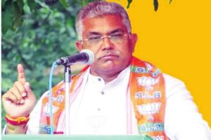 BJP can't be stopped in Bengal: Dilip Ghosh
