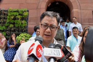 Govt has no say on India's Davis Cup tie in Pak: Kiren Rijiju