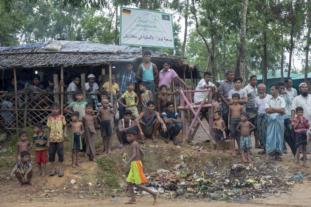 Myanmar calls for 'smooth repatriation' of Rohingya