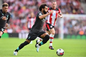 'I'm happy at Liverpool,' says star striker Mohamed Salah