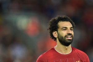 Surprise visit by Mohamed Salah makes day for young fan who injured himself trying to meet him